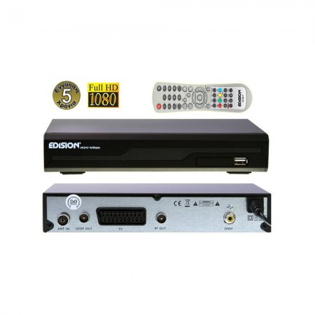 Edision Mini Triton MPEG4 + HD