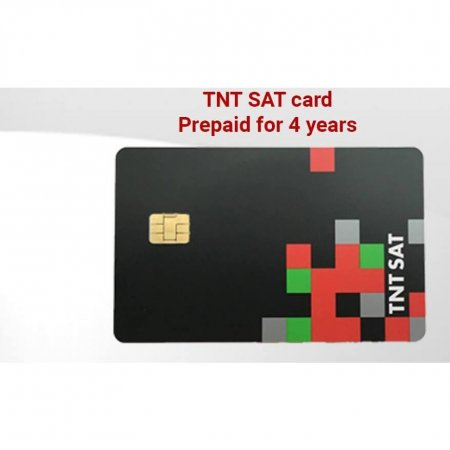 TNT SAT Acess card for TNT channels via Astra 19.2° satellite
